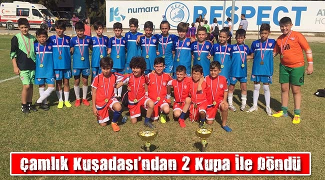 INTERNATİONAL EPHESİA CUP'DA ŞAMPİYON ÇAMLIK